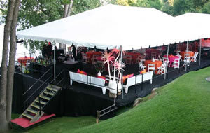 Tent & canopy rentals for outdoor events